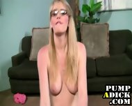Glasses Handjob Slut - scene 2