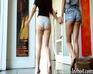 Lovely Teen Girls Pleasuring Each Others Sweet Pussies - scene 2
