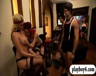 New Singles Hit Up The Foursome Mansion For Some Nasty Games - scene 8