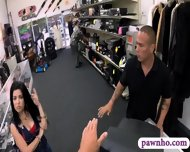 Cuban Chick Got Fucked By Horny Pawn Man In The Backroom - scene 3