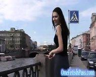 Teasing Skirt Babe Vicky Vida - scene 1