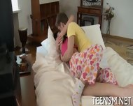 Rear Fuck For Peachy Teen - scene 3