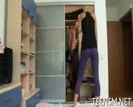 Juicy Teen Enjoys Rear Screwing - scene 1