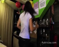 Spanish Amateur Bangs Pov In Public Bar - scene 1