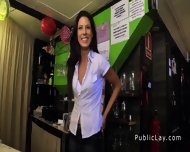 Spanish Amateur Bangs Pov In Public Bar - scene 2