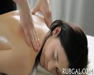 Skinny Nymph And Naughty Massage - scene 1