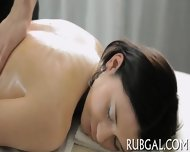 Skinny Nymph And Naughty Massage - scene 2