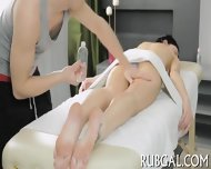Skinny Nymph And Naughty Massage - scene 5
