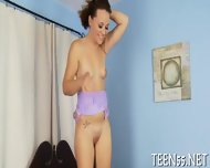 Wild Teen Mounts A Huge Dick - scene 10