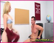 Teen Highschool Cheerleader - scene 10