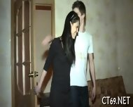 Hot Session For A Teen Lady - scene 2