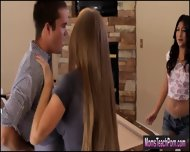 Stepmom Darla Crane Helps Sammi Bananas To Get Her Bf Hard - scene 6