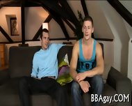 Mind-blowing Blowjob With Gays - scene 1