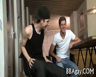 Arousing Blowjob With Studs - scene 2