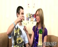 Babe Delighting Stud With Fellatio - scene 2