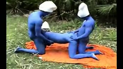 The Smurf FuckFest - scene 4