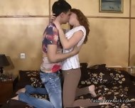 Cheating Teen Girlfriend Gets Her Pussy Licked - scene 3
