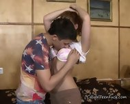 Cheating Teen Girlfriend Gets Her Pussy Licked - scene 5