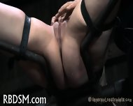 Clamping Beauty S Knockers - scene 12