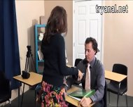 Sexy Teen Student Sophia Torres Analed By Her Teacher - scene 3