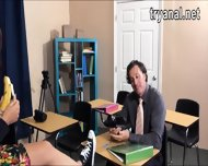 Sexy Teen Student Sophia Torres Analed By Her Teacher - scene 4