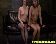 Sub Takes Strapon From Her Mistress - scene 8
