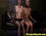 Sub Takes Strapon From Her Mistress - scene 9
