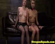 Sub Takes Strapon From Her Mistress - scene 10