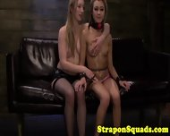 Sub Takes Strapon From Her Mistress - scene 12