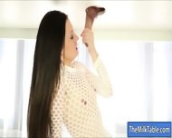 Gorgeous Masseuse Milking Hard Man Meat Under The Table - scene 12