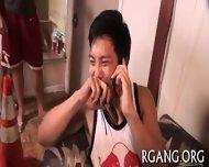 Men Are Banging Cute Gals - scene 9