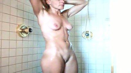 40 yo MILF wife shower - scene 5