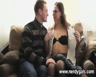 Skinny And Nerdy Teen Adores Intimacy - scene 1