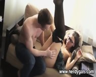 Skinny And Nerdy Teen Adores Intimacy - scene 7