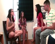 Teen Girls Playing With Toy Dick - scene 8