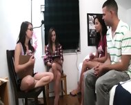 Teen Girls Playing With Toy Dick - scene 11
