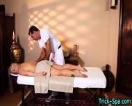 Tattooed Babe Massaged - scene 1