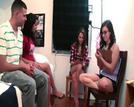 Teen Girls Playing With Vibrator Dick - scene 9