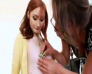 Teacher And Her Sleek Anal Lesbian - scene 2
