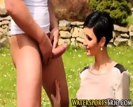 Classy Piss Drenched Ho - scene 9