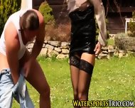 Classy Piss Drenched Ho - scene 12
