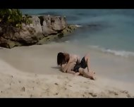 Extremely Smart Lovers Sex On The Beach - scene 3
