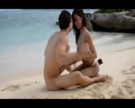 Extremely Smart Lovers Sex On The Beach - scene 6