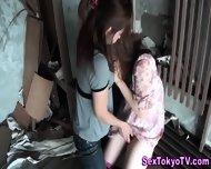 Japanese Lesbo Strapon - scene 2