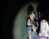 Japanese Lesbo Strapon - scene 4