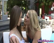 Hot Stepsis Outdoor Fuck - scene 4