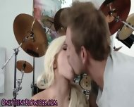 Petite Blonde Teen Blows - scene 8
