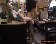 Amateur Blonde Pawned Her Pussy And Pounded In The Pawnshop - scene 9