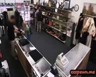 Amateur Blonde Pawned Her Pussy And Pounded In The Pawnshop - scene 2