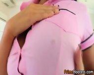 Busty Clit Rubbing Babe - scene 3